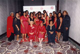 Delta Sigma Theta Sorority Photograph 007: Sorors at the Norfolk Alumnae Chapter's 85th Anniversary Celebration, 2014